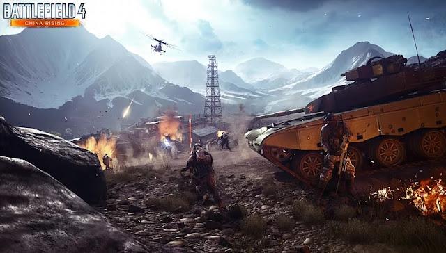"""""""Battlefield 4"""" Hot game Chiến Trường Rực Lửa 2013"""