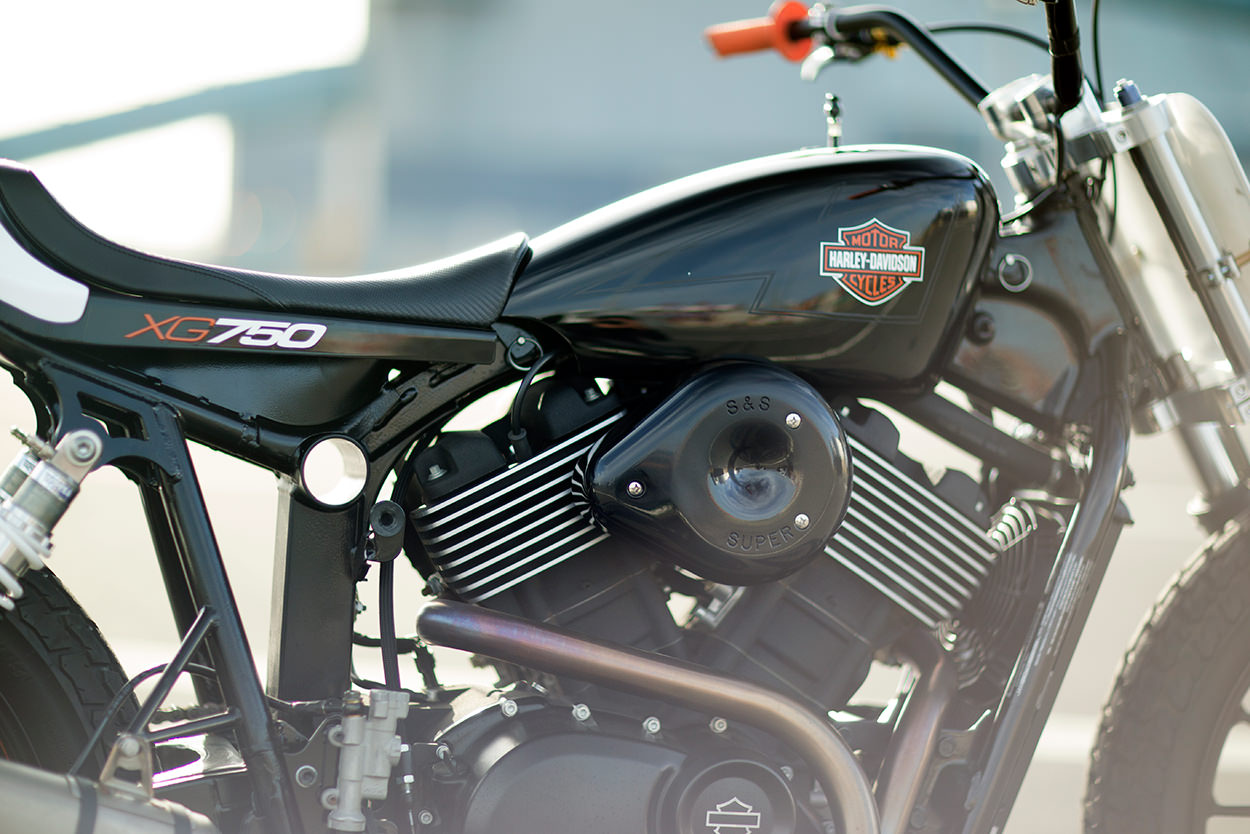 Racing Cafè: Harley XG 750 Flat Track by Noise Cycles on