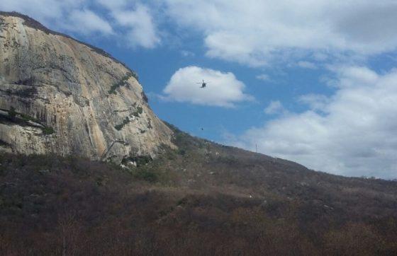 Turista morre em acidente de parapente no município de Quixadá