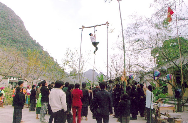 Gau Tau festival of Mong people in Ha Giang 2