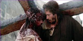 Resultado de imagen para Jesús y Simón de Cirene