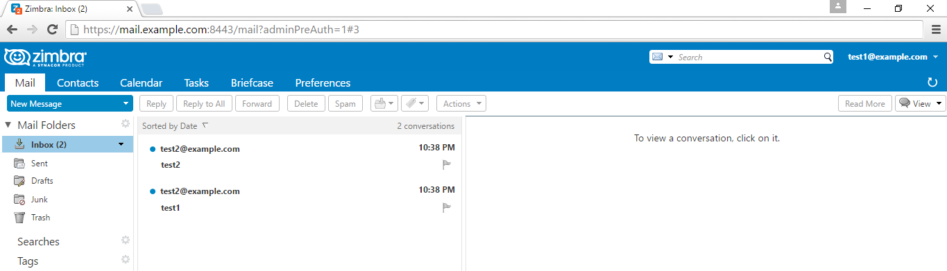 How to backup and restore zimbra email account using webmail