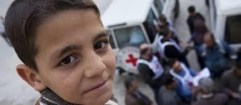 شاب, طفل, العراق, تفجيرات, الصليب الأحمر