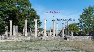 Antiquarium di Saepinum-Altilia Saepinum Roman ruins. Sepino Molise