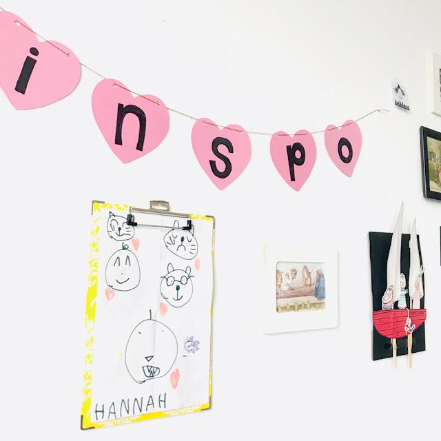 My Inspo Wall | Linzer Lane Blog | #interiorinspo #wherewomencreate #inspo