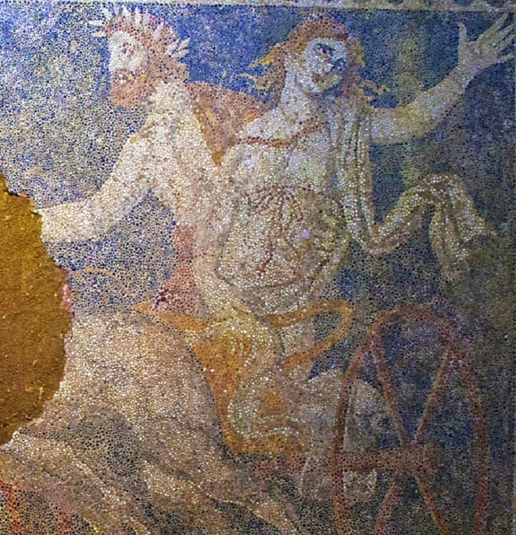 Amphipolis mosaic portrays Abduction of Persephone
