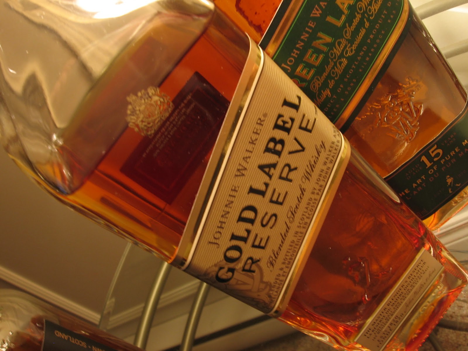Jasons Scotch Whisky Reviews Review Johnnie Walker Gold