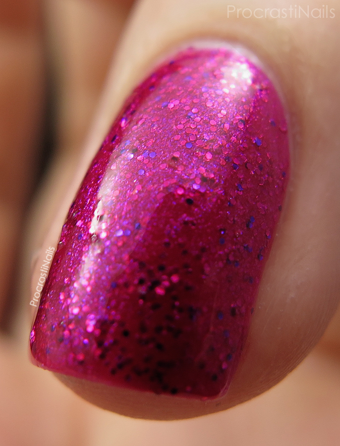 Macro of Butterfly Queen from the CND Vinylux Garden Muse Collection