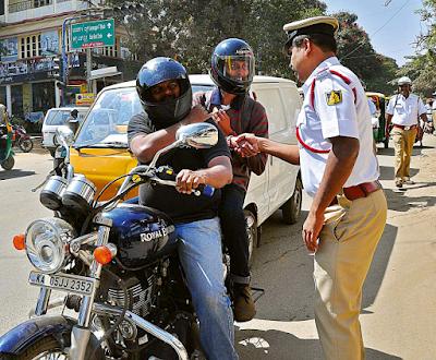 जाने ट्रैफिक पुलिस कब आपका चालान नही काट सकती नियम और कानूनो की पूरी जानकारी, traffic rules in india