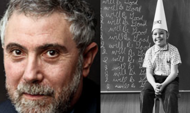 2.5 years after predicting a Trump economic meltdown, how does Krugman still have a job?