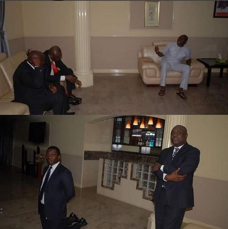 Zenith Bank Manager Who Knelt Down to Beg is Fayose's Boy?...Read Interestion Allegations