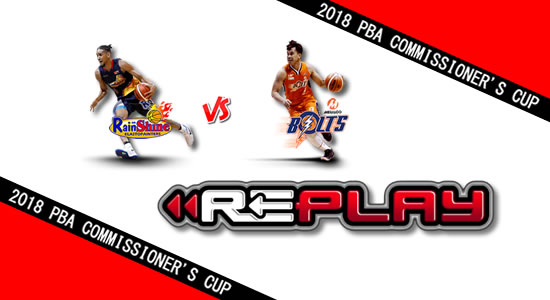 Video Playlist: ROS vs Meralco game replay June 24, 2018 PBA Commissioner's Cup