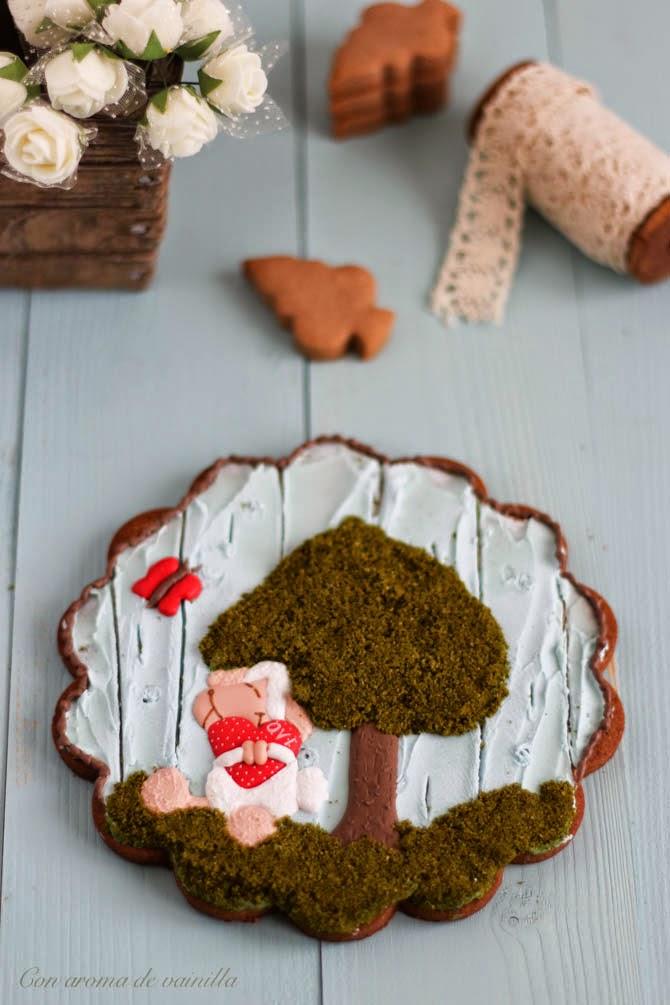 Galletas de Nutella decoradas