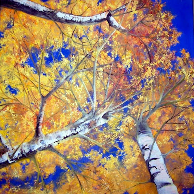 Oil on canvas 40 x 40, 2004  Private Collection, Trish Gray  Oshawa Ontario. Timeless Expression by Maguire