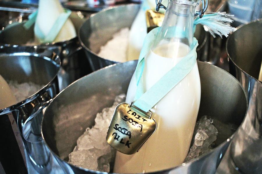 soymilk