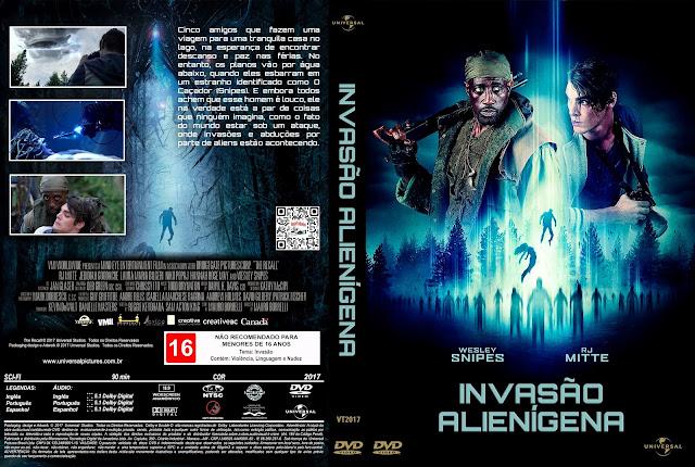Capa DVD Invasão Alienígena [Custom]