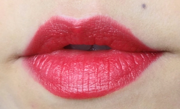 YSL Rouge Pur Couture 55 Rouge Anonyme swatch