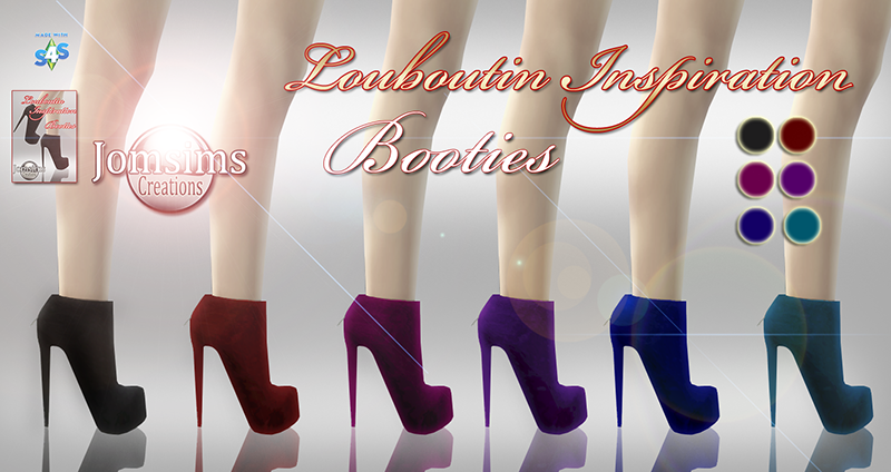 My Sims 4 Blog Christian Louboutin Heels And Booties By