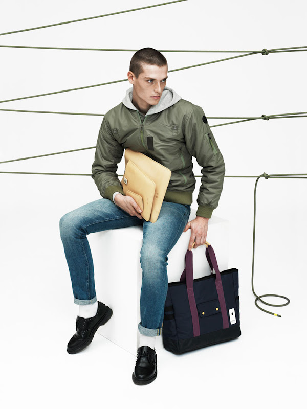Eastpak X Wood Wood Modulation Spring/Summer 2013 Collection