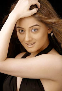 Mahi Vij In Black Dress
