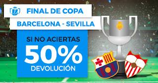 Paston Promoción Copa del Rey: Barcelona vs Sevilla 21 abril
