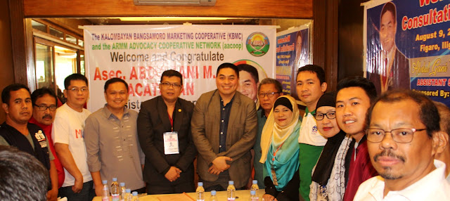 DTI Asec Macatoman graces Maranao multi-sector leaders' consultation forum