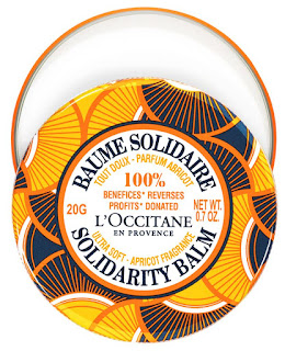 L'Occitane Apricot Shea Solidarity Balm - celebrating women around the world!
