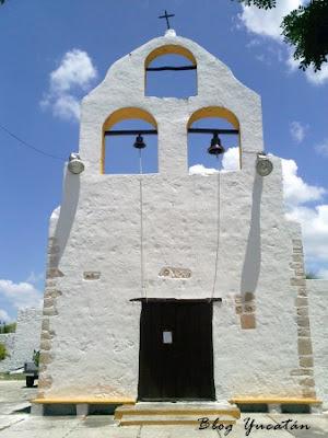 Fachada Iglesia Chablekal Yucatan