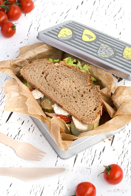 Rezepte für die Mittagspause, Stulle für die Brotdose