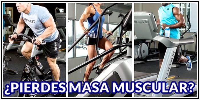 El cardio no hará que tus músculos se adelgacen a menos que no te suplementes bien
