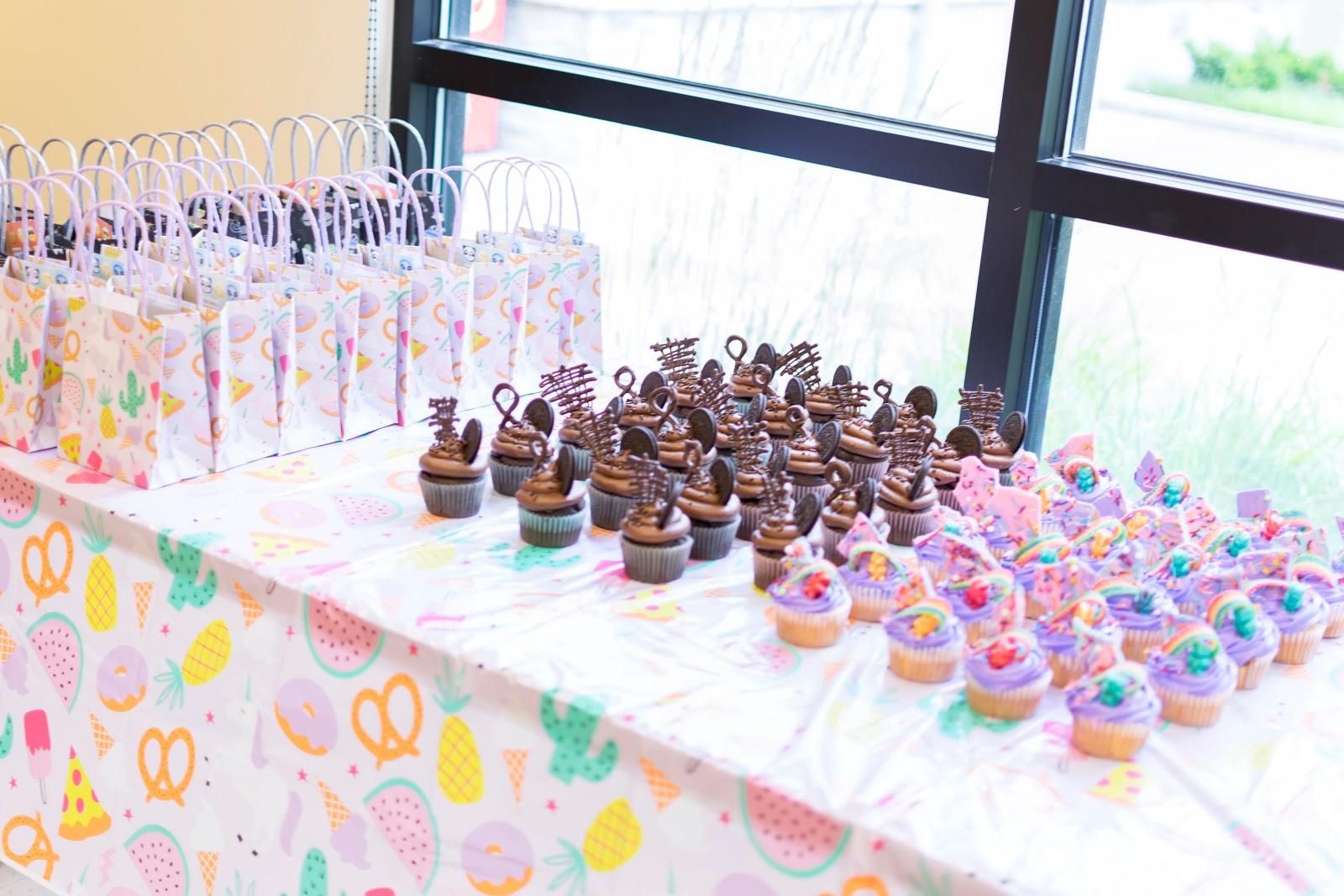 Daphnie Pearl 8 Birthday Party Supplies Decorations Fun Unicorn Target Donut Pineapple Ice Cream Chocolate