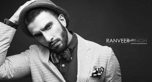 Ranveer Singh Black and White HD Wallpapers