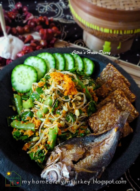 citra s home diary urap sayur indonesian vegetables mix