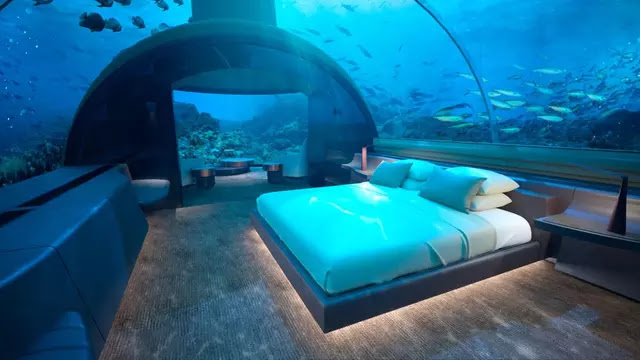 Maldives Build Underwater Hotel with the Most Advanced Technology