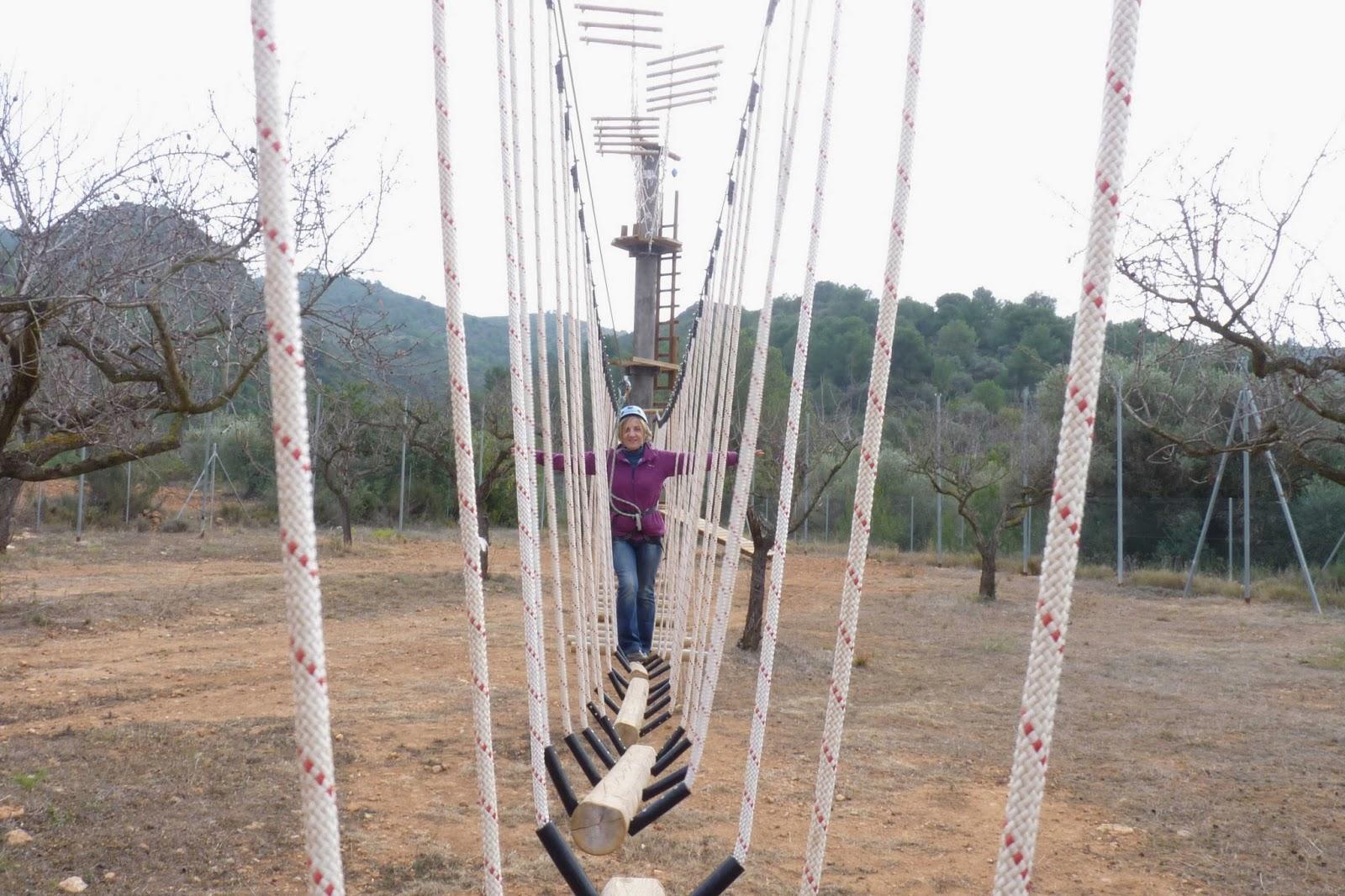 Temps Actiu. Puentes tibetanos.