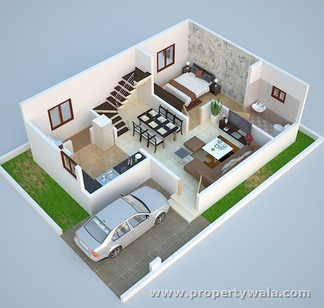 3d duplex house floor plans that will feed your mind for Duplex house plans with swimming pool