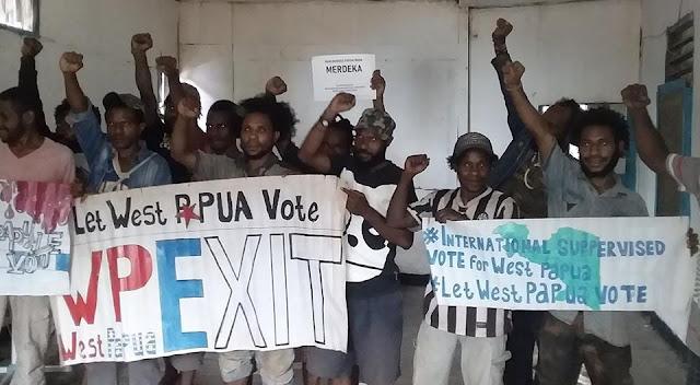 Panitia Persiapan Kemerdekaan Memperingati HUT Proklamasi Negara West Papua yang Ke-47
