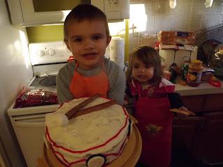 Little Drummer Boy Cake