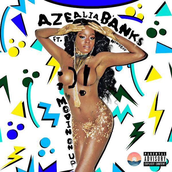 Azealia Banks - Movin' on Up (feat. Newbody) - Single  Cover
