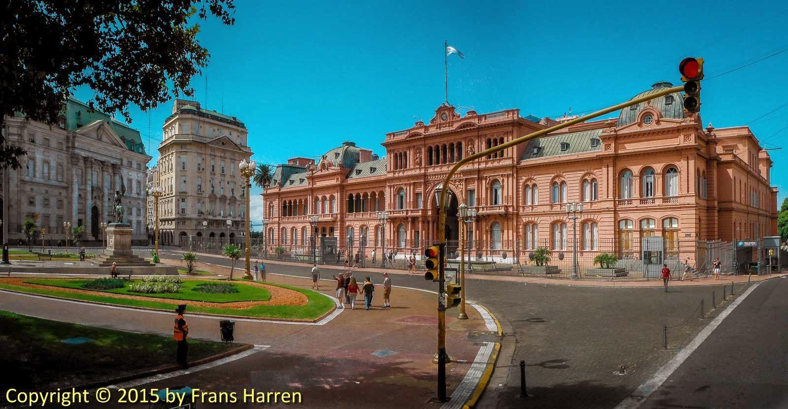 La Casa Rosada Buenos Aires  Frans Harren Photography