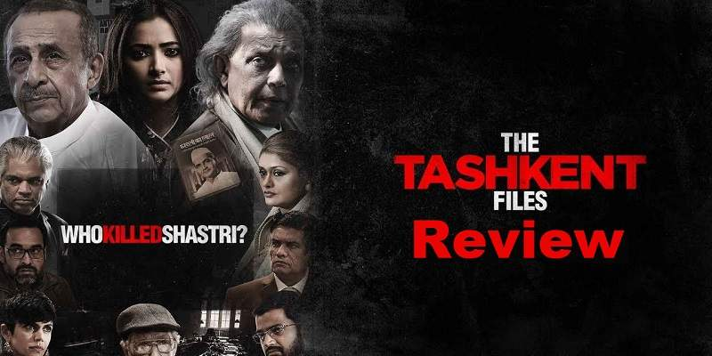 The Tashkent Files Movie Review Poster