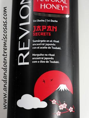 Gel Japan Secrets De Natural Honey