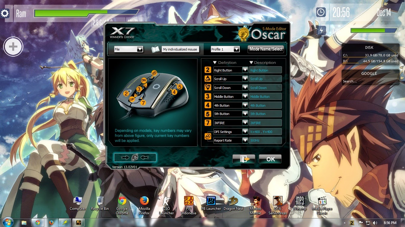 X7 oscar keyboard editor download.