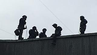 Simulacro, Toma de rehenes en Embajada de Israel en Letonia