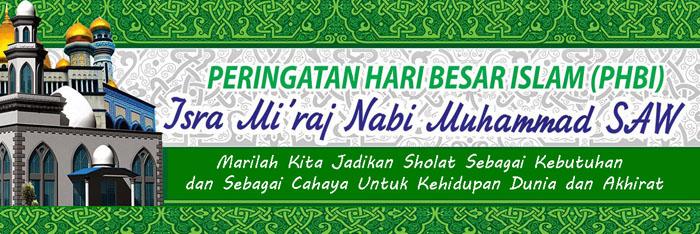 banner isra miraj
