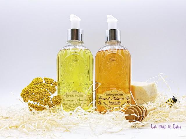 Jabones Líquidos  Marsella  Jeanne En Provence manos belleza beauty baño sorteo