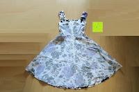 innen: mixinni® Damen A-Linie Kurz Rockabilly Kleid 1950er Vintage Faltenrock Cocktail Partykleid Sommerkleid