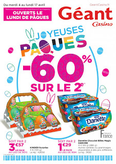 Catalogue Géant Casino 04 au 17 Avril 2017