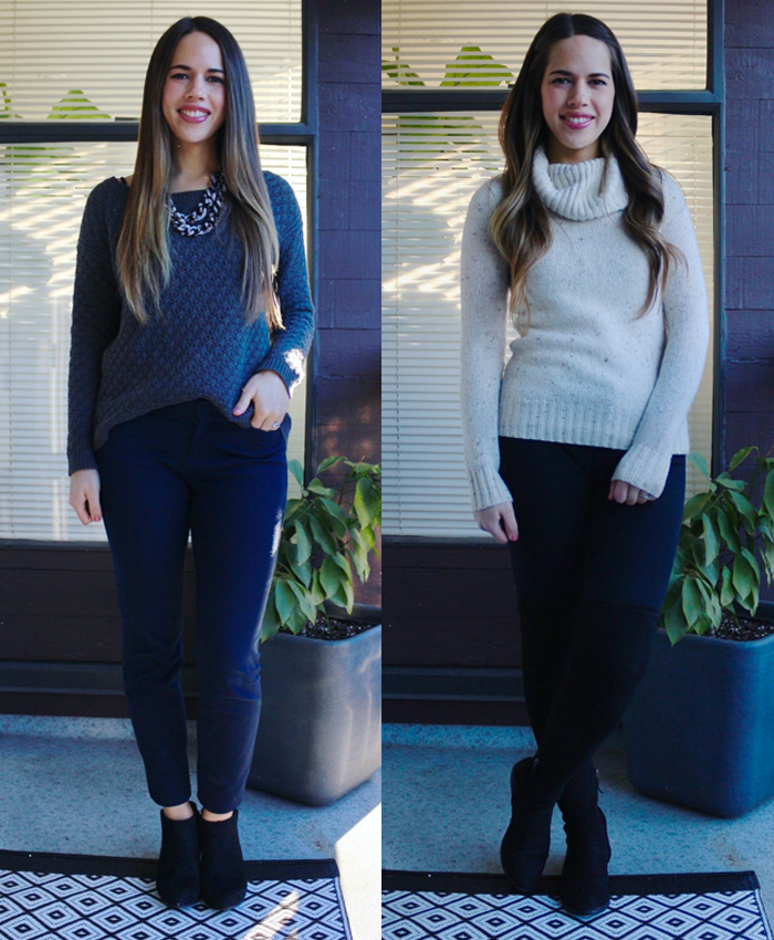 Jules in Flats - February Outfits for Work
