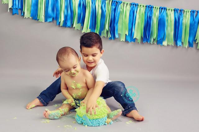 Sessão Smash The Cake Primeiro Aniversário 012